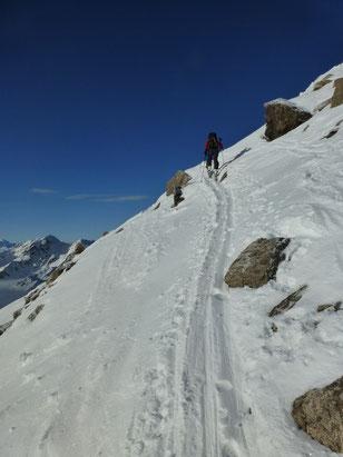 Skitour, Radüner Rothorn, Davos, Flüelapass, Graubünden