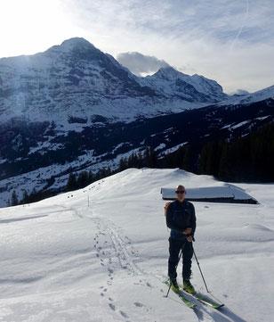 Skitour, Burg, Bussalp, Unterläger, Grindelwald, Berner Oberland, BEO, Eiger, Mönch, Jungfrau, Burglauenen