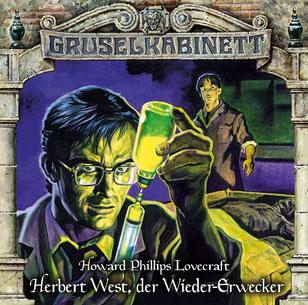 CD-Cover Gruselkabinett Folge 150 Herbert West, der Wieder-Erwecker