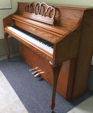 ピアノの弦が切れた状態