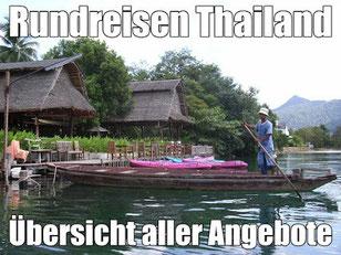 Rundreisen Thailand Kurz-Rundreise und Baden mit Flug günstig buchen