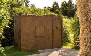 Spektakuläre Design-Toilette - © Golfclub Lauterhofen e.V.