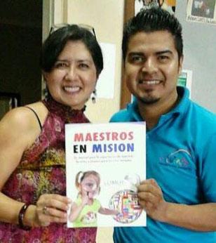 Gloria Sloan y Danilo Zuhul, Capacitadores de Maestros en Misión