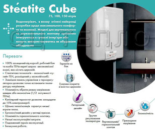 Бойлеры Atlantic Steatite Cube