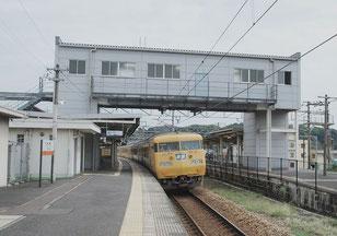 広島県・大門駅のホーム