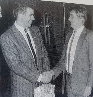 l. Kurt Nofts, r. Michael Maurer