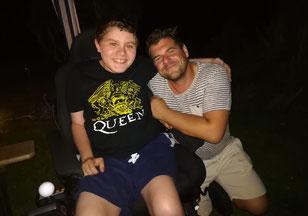 Aaron mit Björn