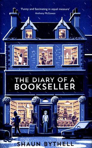 """Portada en anglès """"The diary of a bookseller"""""""