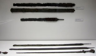 Latène D, Schwerter, Historisches Museum Regensburg