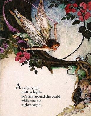 大天使アリエルにお願いする