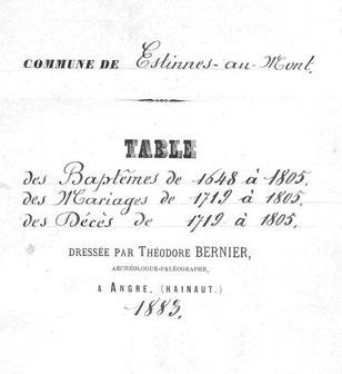 Archives de l'Etat de Belgique (Mons)