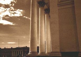 die Katharinen-Kirche, ein Geschenk der Zarin Katharina