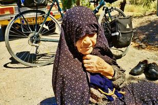 mit 92 Jahren will sie noch einmal Ghom sehen