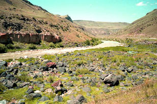 ganz nah an der armenischen Grenze