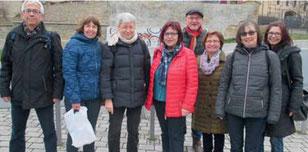Pflaumheimer Büchereimitarbeiter in Leipzig und Naumburg (Foto privat)