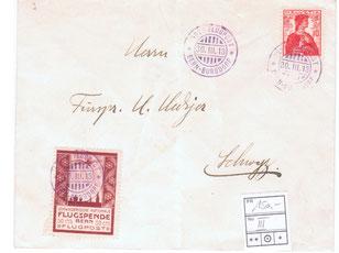 Bern auf Brief