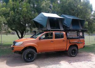 4x4 Toyota Land Cruiser campers Lusaka