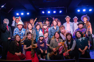 高槻シード音楽教室|発表会の集合写真