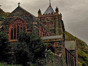 neugotische St. John Cathedrale von Barmouth