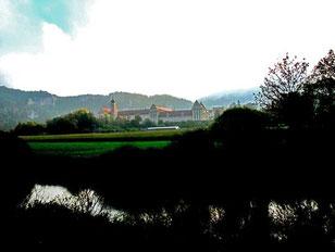 Kloster Beuron - direkt an der noch jungen Donau