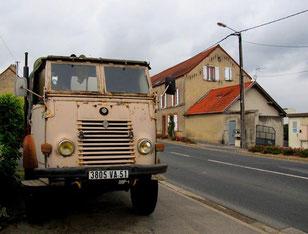 ein Oldtimer-Renault