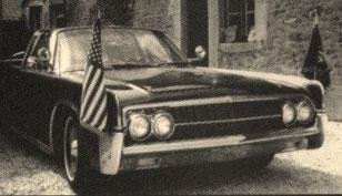 der Lincoln X 100 - in dem Kennedy starb