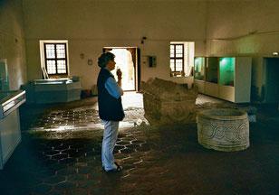 der Museums-Raum für Iznik-Keramik