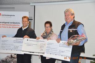 Hinrich Bruns (FT), Anna Fennen (Leukin), Peter Groeneveld (ProSanitas)