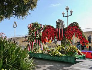 Städtereise Frankreich: Karneval in Nizza der Blumenkorso