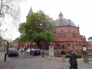Der Sonntagmorgenhimmel über Niedersachsen - da half nur beten!