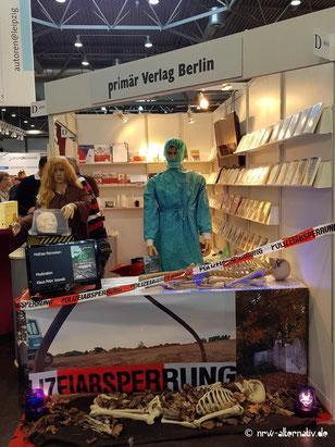 Hier siehst Du das Bild eines Standes auf der Leipziger Buchmesse 2019.