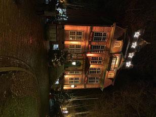 Das weihnachtliche Schloß Ritzebüttel