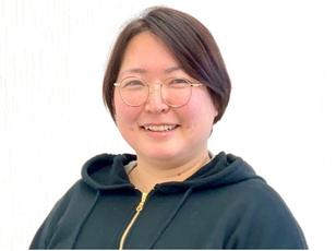 代表の糸永 早織さんの写真