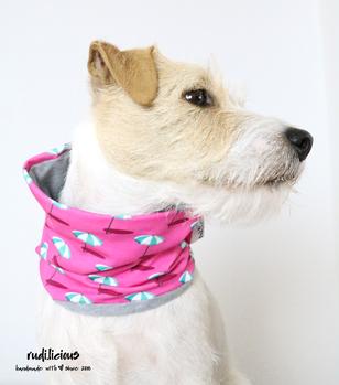 Hundeloop Hundehalstuch Accessoire Jersey