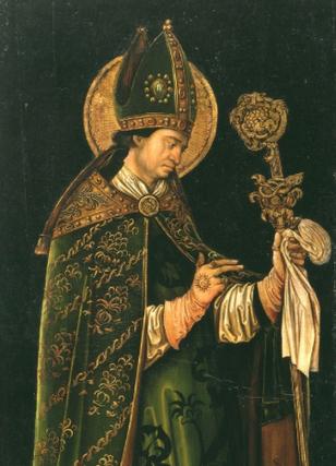 Der Heilige Valentin, Leonhard Beck um 1510