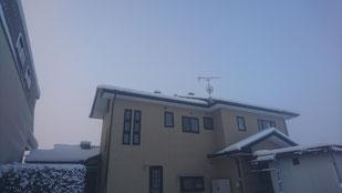 雪 スカイライトチューブ