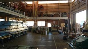 工場内風景 1階