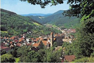 Alpirsbach um 2000 (Foto: P.Weidenbach)