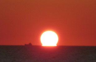 日御碕の夕日