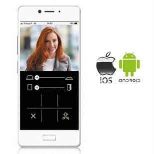 application smartphone pour visiophone JO Wi-fi Aiphone