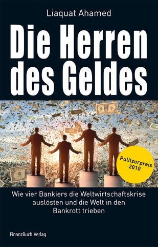 """Cover """"Die Herren des Geldes"""", Finanzbuchverlag 2010"""