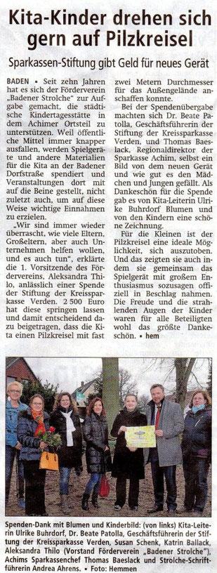 Achimer Kreisblatt 15.12.2015