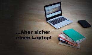 Ein Laptop, Fremdsprachenbücher, Ebook zum Sprachen studieren