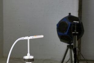 Luftschallmessung einer Verglasung