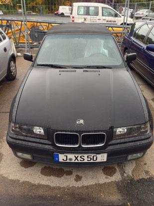 BMW E36 Cabrio - Schwarz Matt
