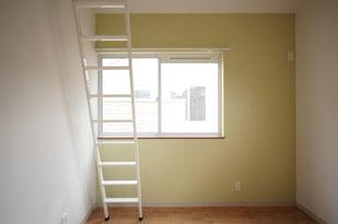 気をつけてはしごを上がってくださいね