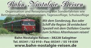 Bahn Nostalgie Reisen