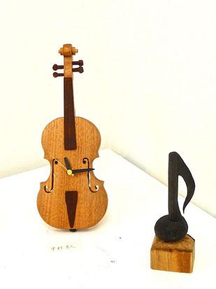 楽器時計Vn    と  Onpu#