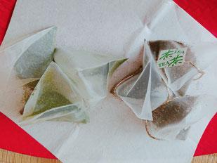 静香園の深蒸し茶ティーパック
