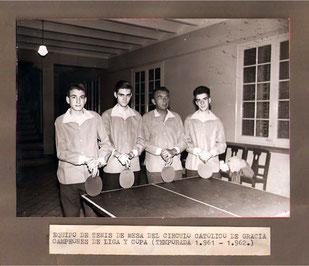 Equip de senior 1961